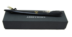Abbeyhorn shoe horn - Tip end - 356mm  14