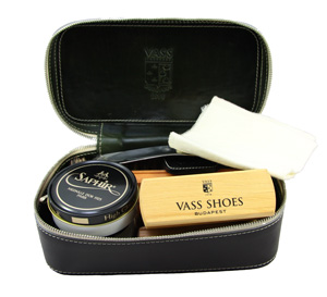 Vass shoes and Saphir Travel Kit