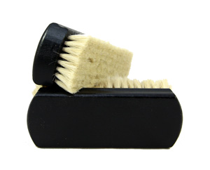 Goat Hair Shoe Brush