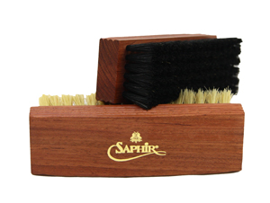 Saphir Polishing Brush - black