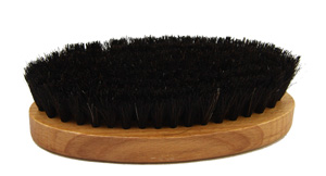 Saphir Oval shoe brush - black