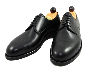 Vass Shoes - 1030 - Black Calf - Size 45