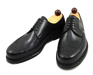 Vass Shoes - 1010 - Black Calf - Size 42