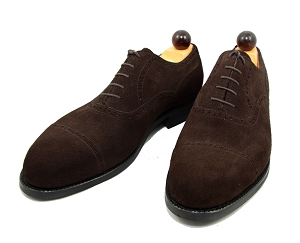 Vass Shoes - 1065 - Brown Suede - Size 42