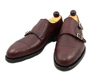 Vass Shoes - 1064 - Bordeaux Scotch Grain - Size 41