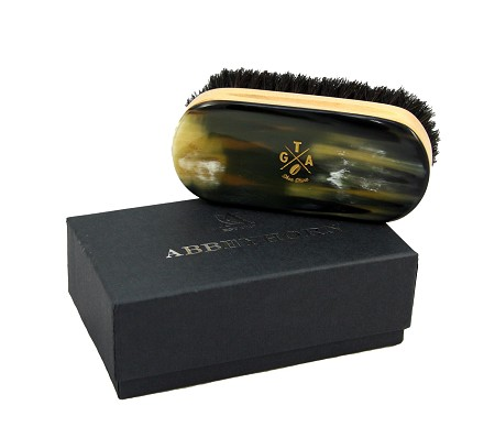 Abbeyhorn shoe brush - small