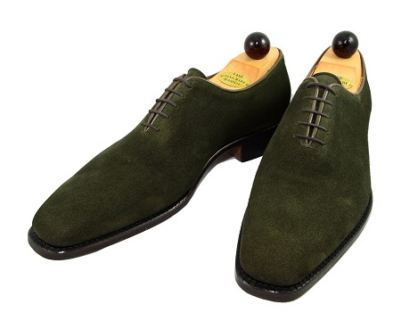 Vass Shoes - 1060 - Size 44 - Green Suede